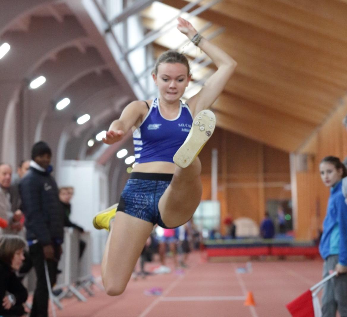 La cadette Alice Chivet 14e meilleure performance de l'hiver à la longueur