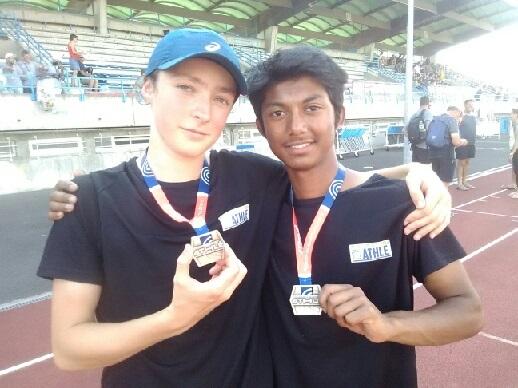Umor Chowdhury et Baptiste Dimpre vice-champions de France par équipes