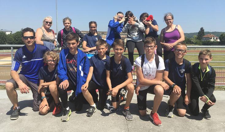 Régionaux benjamins : Quatre podiums pour le SO Calais Athlétisme