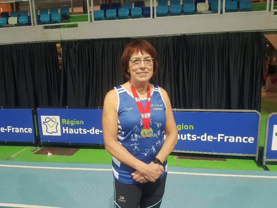 Deux titres régionaux en salle pour la Masters Eliane Piret-Declerck