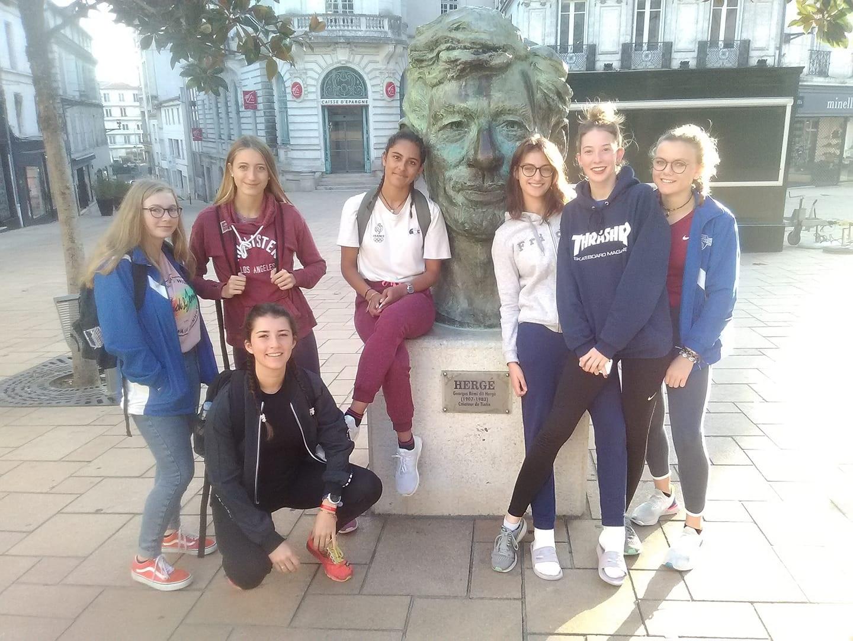 Les cadettes septièmes de la finale nationale Equip'Athlé
