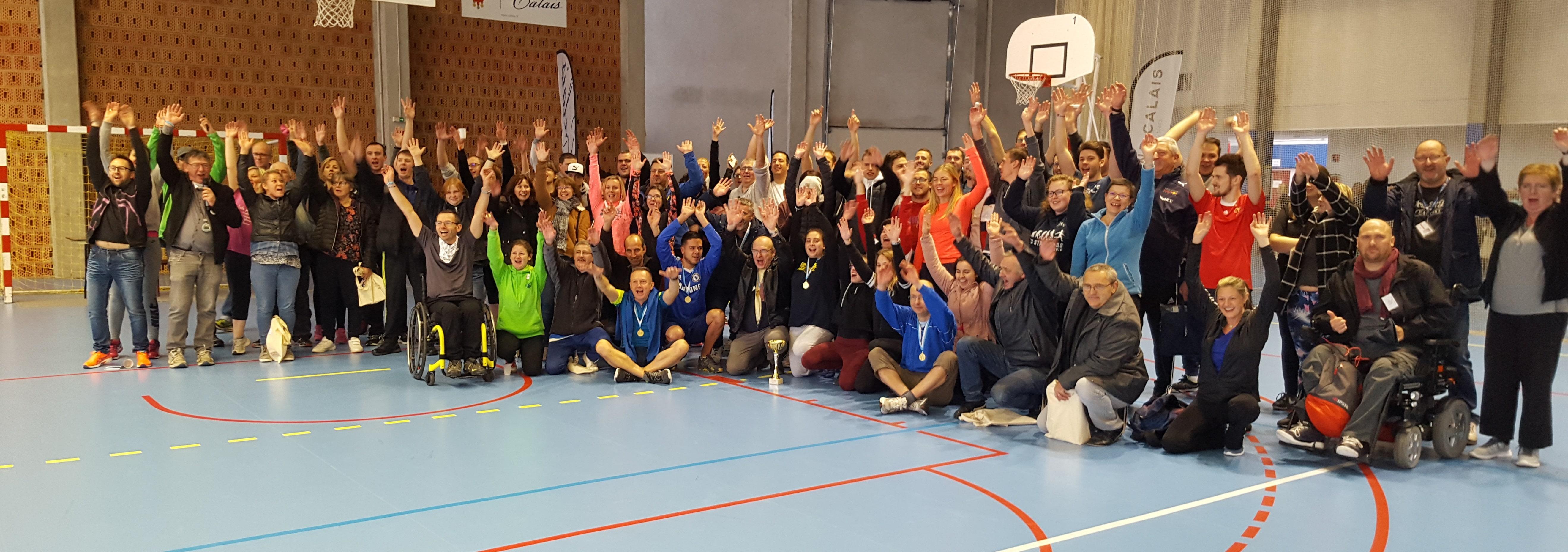 115 participants au 1er Handi Athlé du Calaisis