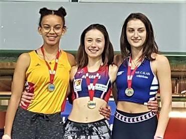 Héloïse Galland troisième des régionaux d'épreuves combinées