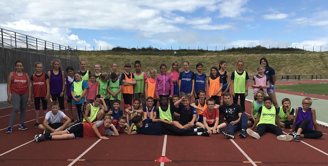 Un premier décathlon pour 41 jeunes stagiaires