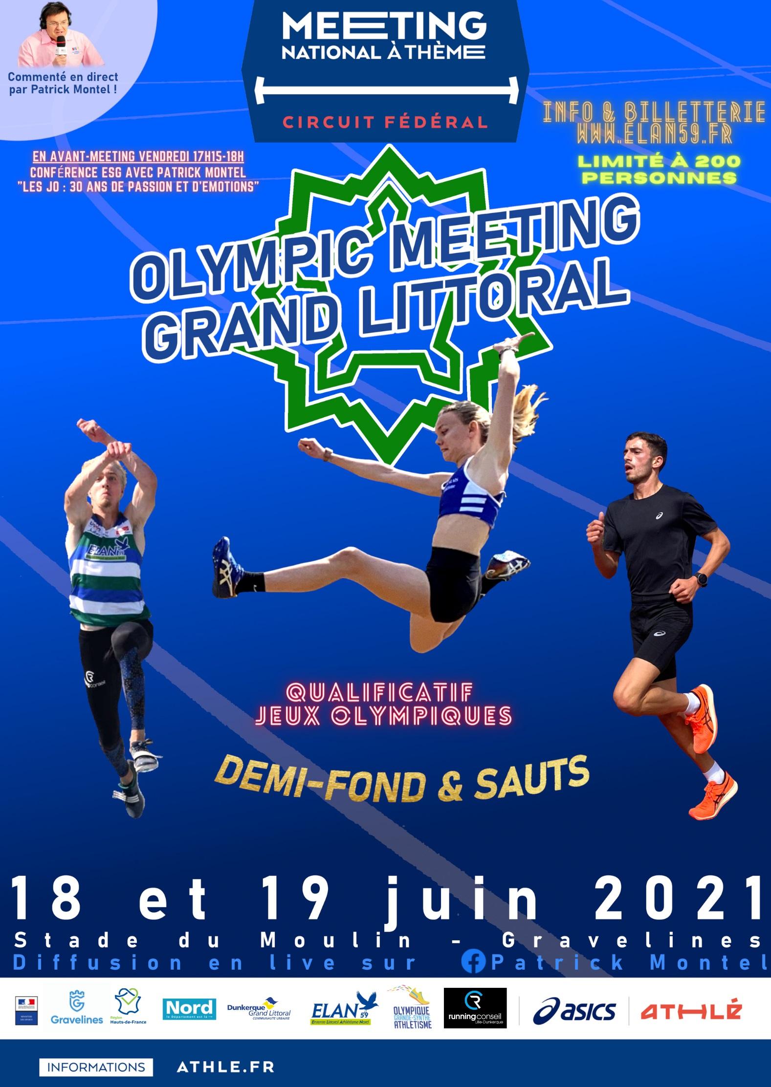 Six athlètes du SOC au meeting national de Gravelines