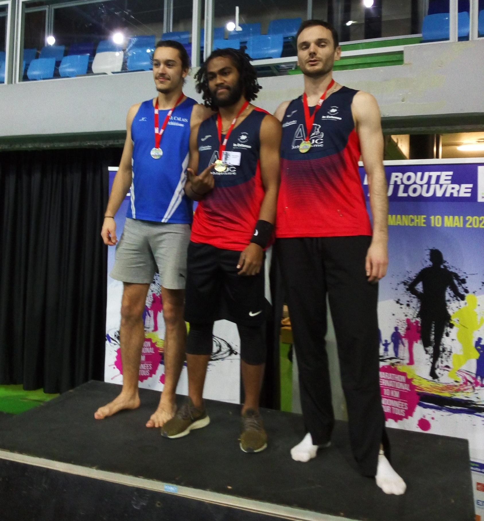 Benjamin Courbot vice-champion régional d'épreuves combinées