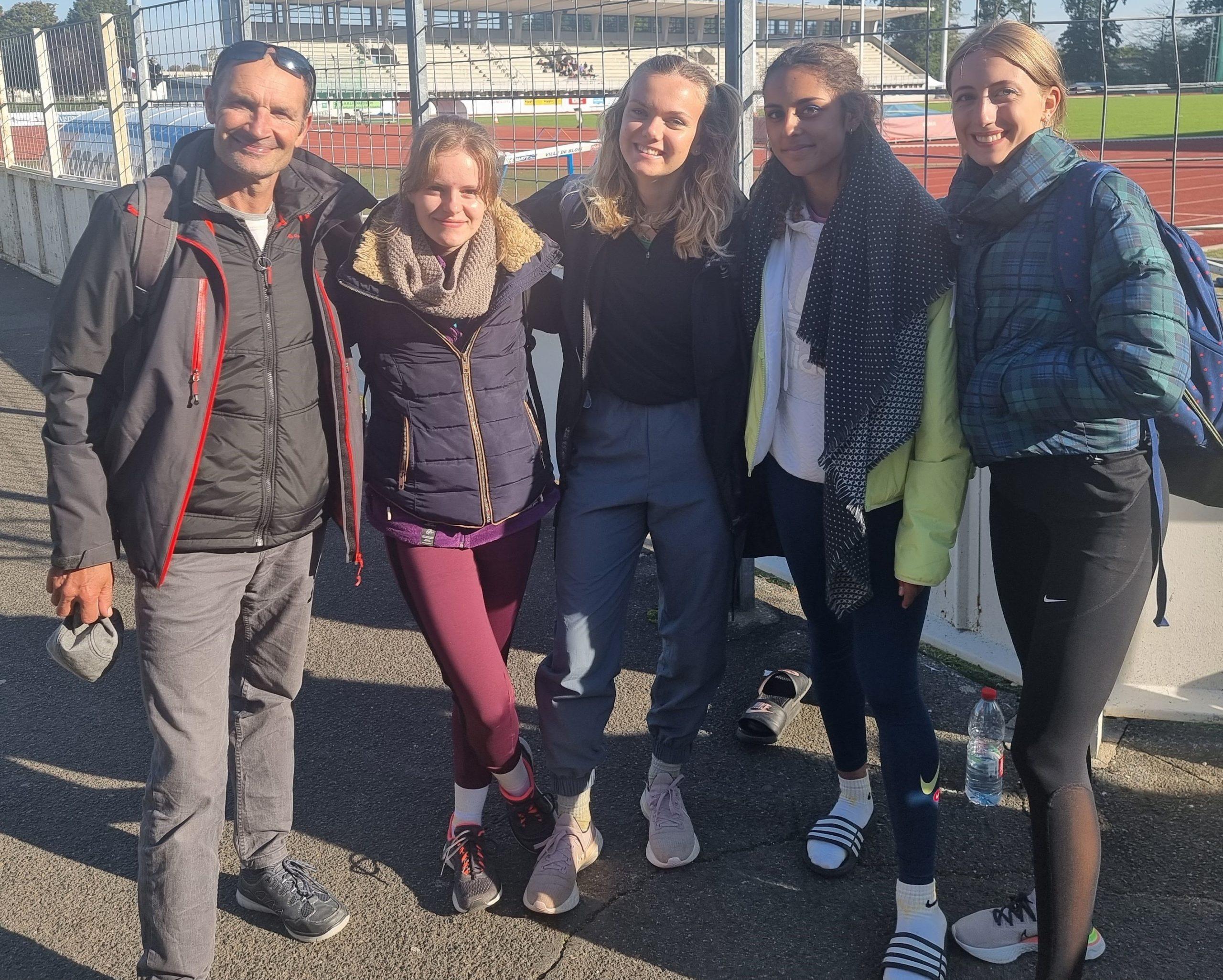 Coupe de France de spécialités : Calais 5e en longueur filles