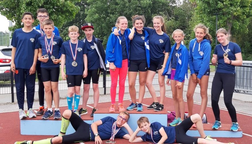 Départementaux jeunes : 26 médailles pour les poussins et benjamins
