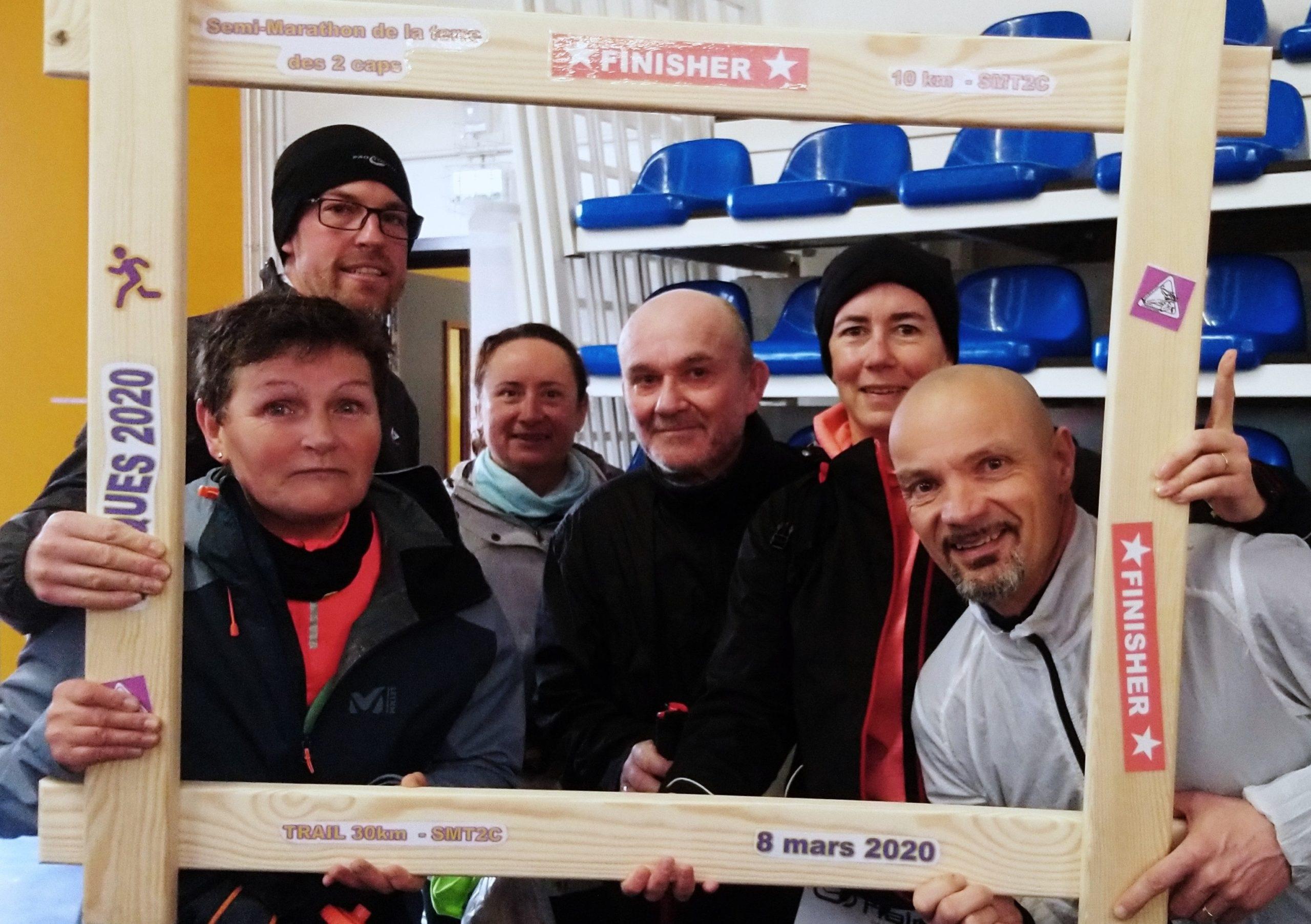 Des Calaisiens au semi-marathon de la Terre des 2 Caps