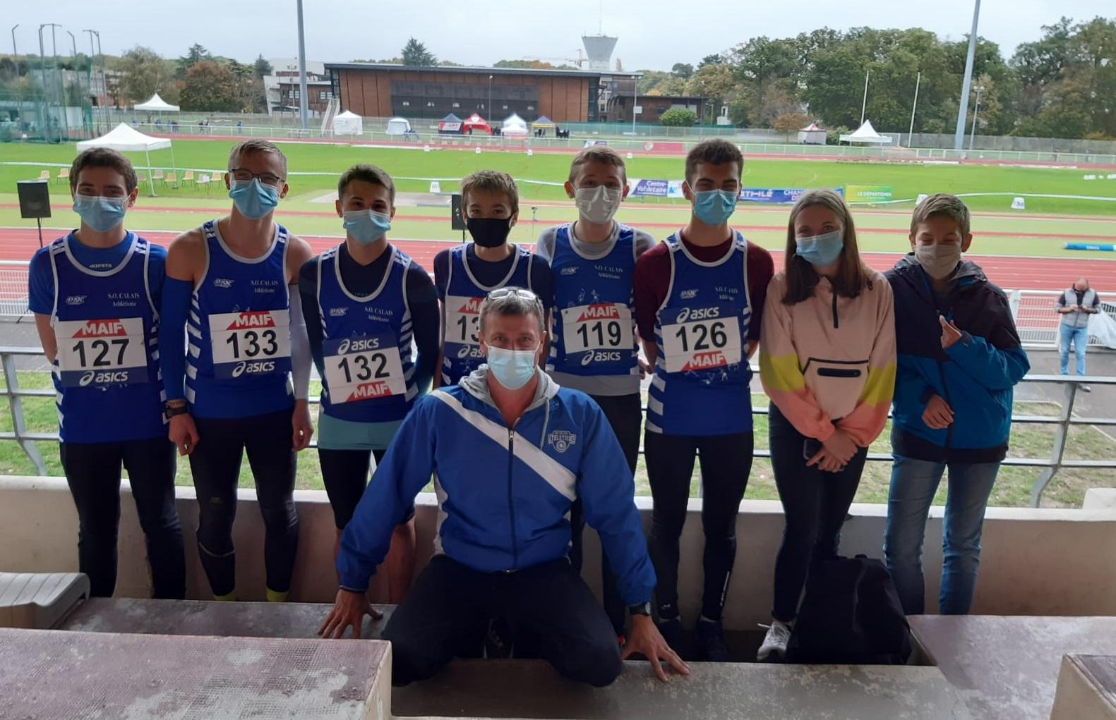 Le SO Calais Athlétisme 4e du challenge des jeunes 2020