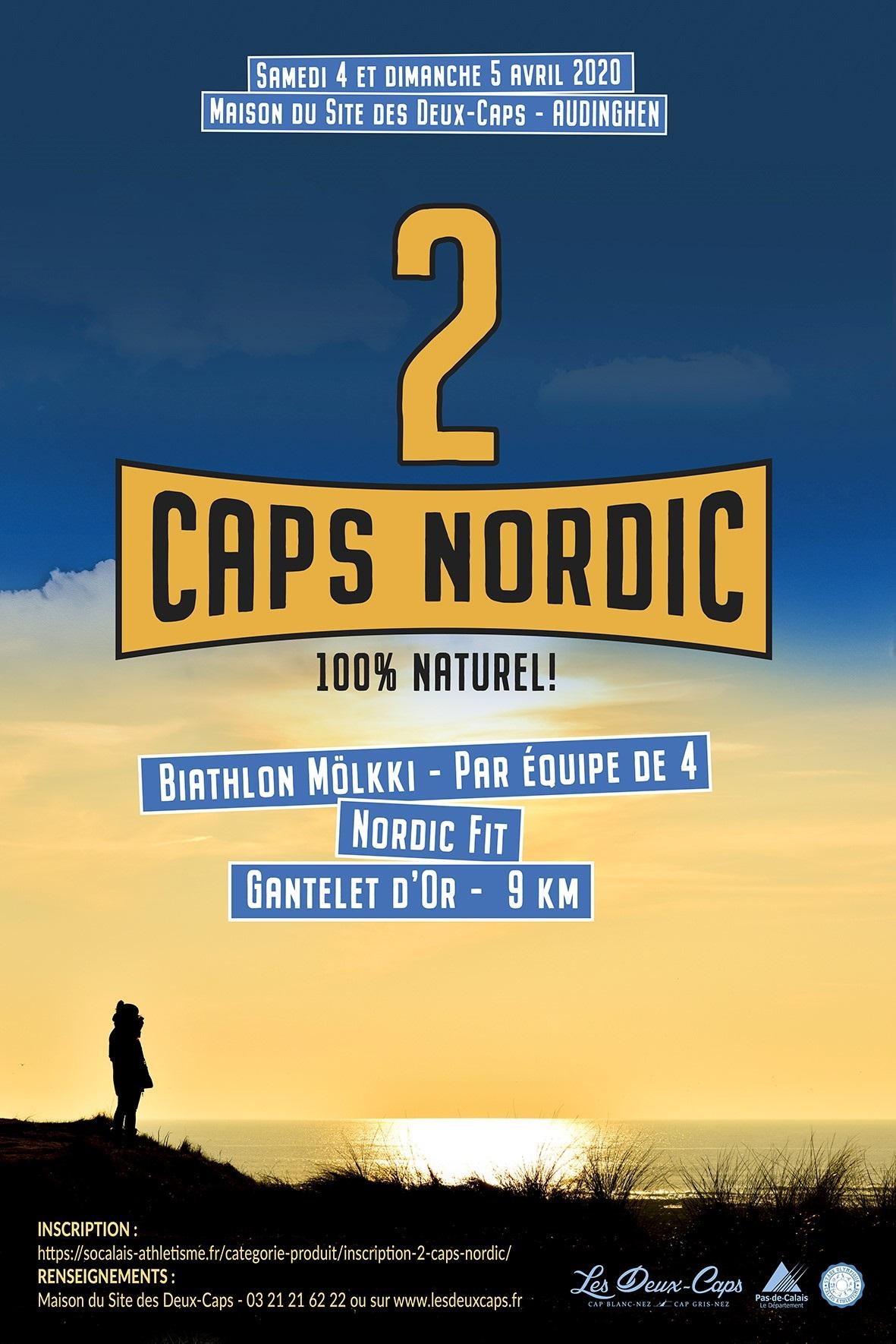 2 Caps Nordic : la marche nordique dans tous ses états