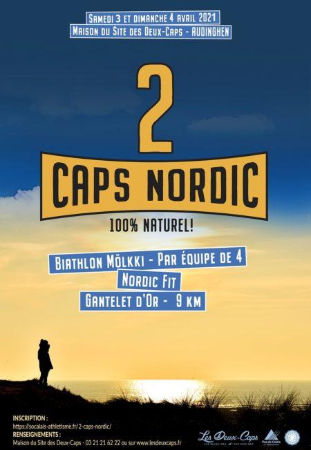 affiche 2 Caps Nordic 2021