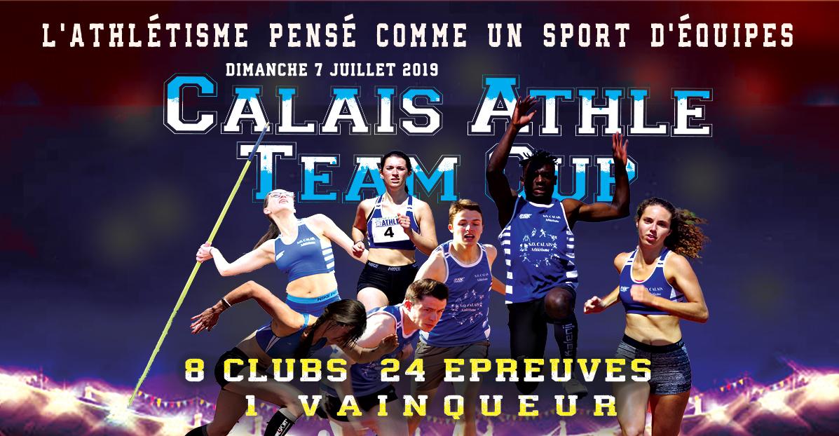 La Calais Athlé Team Cup, un rendez-vous international