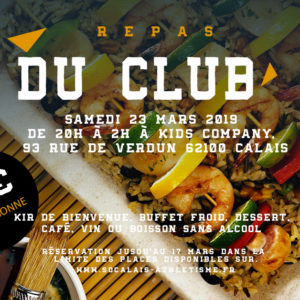 repas du club